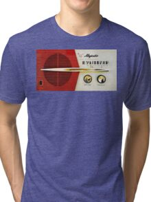 My Grand Father Old Radio Tri-blend T-Shirt