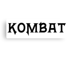 Kombat Canvas Print