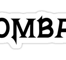 Kombat Sticker