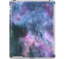 Purple space ice dye iPad Case/Skin