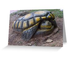 wood turtle Greeting Card