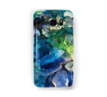 Green and blue ice dye gems Samsung Galaxy Case/Skin