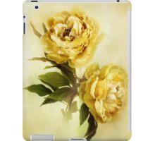 Painted Peonies iPad Case/Skin