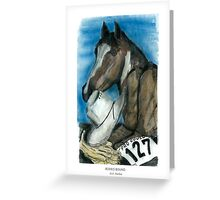 Rodeo Bound Greeting Card