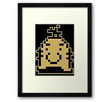 Earthbound Mr Saturn Framed Print
