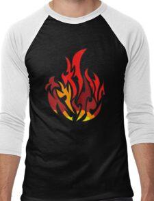 Dauntless flame divergent Men's Baseball ¾ T-Shirt