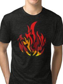Dauntless flame divergent Tri-blend T-Shirt