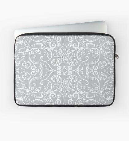 Silent Era, Gray Laptop Sleeve
