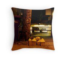 Cardboard Houses Pt 2 Throw Pillow