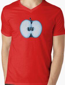 Fringe Apple Twins Mens V-Neck T-Shirt