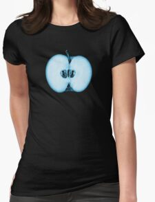 Fringe Apple Twins Womens Fitted T-Shirt