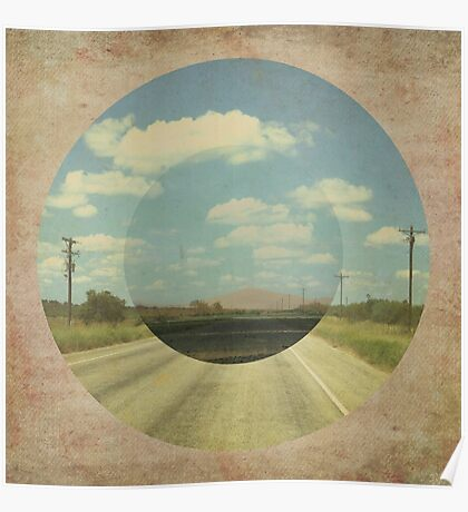 Open Road Collage Poster