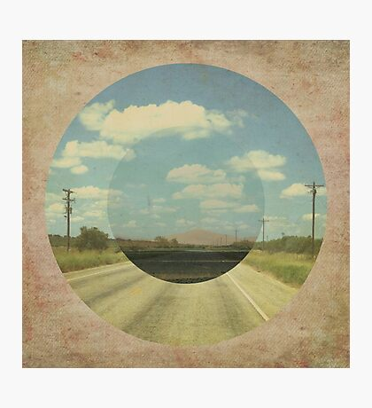 Open Road Collage Photographic Print