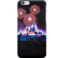 Fireworks over the Castle iPhone Case/Skin