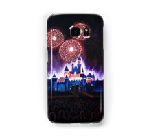 Fireworks over the Castle Samsung Galaxy Case/Skin
