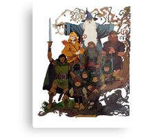 Fellowship of the Ring Metal Print