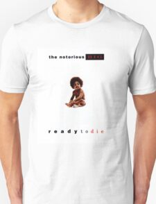 Ready to Die Album Cover T-Shirt