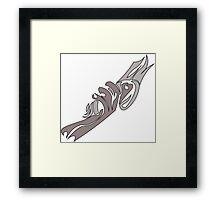 Abnegation divergent Framed Print