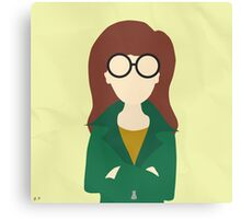 Daria Morgendorffer (Simplistic) Canvas Print