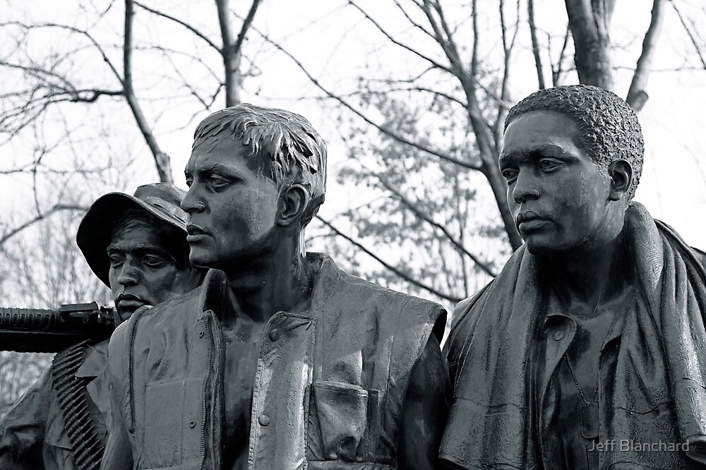 Vietnam War Memorial by Jeff Blanchard
