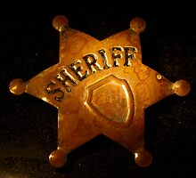 Rusty Sheriff`s Badge by shakey