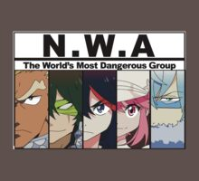 NWA- The world's most dangerous group (Kill la Kill) with color by kawaiigaythug