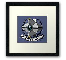 destiny ghost insignia Framed Print
