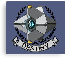 destiny ghost insignia Canvas Print