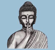 Shh ... do not disturb - Buddha - New One Piece - Short Sleeve