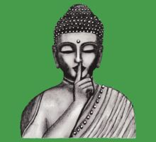 Shh ... do not disturb - Buddha - New Kids Tee