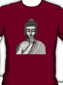 Shh ... do not disturb - Buddha - New T-Shirt