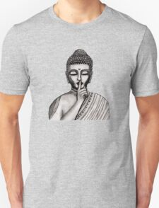 Shh ... do not disturb - Buddha - New Unisex T-Shirt