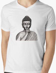 Shh ... do not disturb - Buddha - New Mens V-Neck T-Shirt