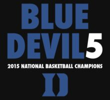 DUKE Blue Devils 5 National Championships 2015 shirt, hoodie and more T-Shirt