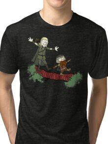 Calvin And Hobbes Lord of The Rings Tri-blend T-Shirt