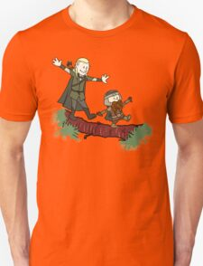Calvin And Hobbes Lord of The Rings T-Shirt
