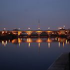 The Tees Barrage After Sunset by dougie1