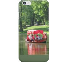 GLIDING ON THE LAKE iPhone Case/Skin