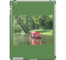 GLIDING ON THE LAKE iPad Case/Skin
