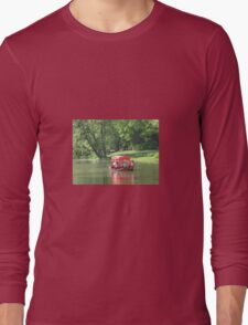 GLIDING ON THE LAKE Long Sleeve T-Shirt