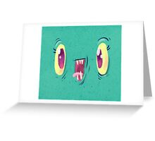 Yo Face Greeting Card