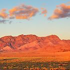 Western Pound Wall, Flinders Ranges, South Australia by Michael Boniwell