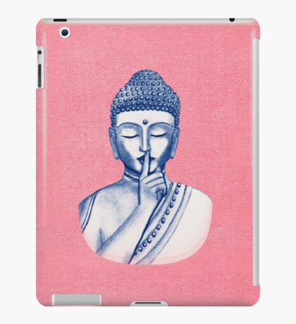 Shh ... do not disturb - Buddha  iPad Case/Skin