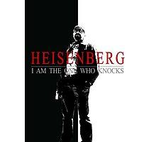"""Heisenber"" Breaking Bad & Scarface Poster Mashup Photographic Print"