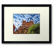 Saint Nicholas Cathedral, Monaco Framed Print