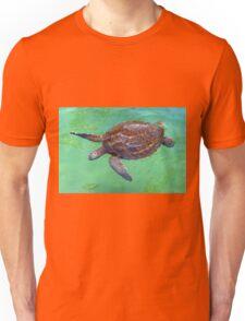 Honu Swimming Unisex T-Shirt