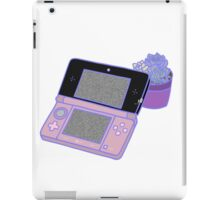 Nintendo DS and succulents - pink iPad Case/Skin