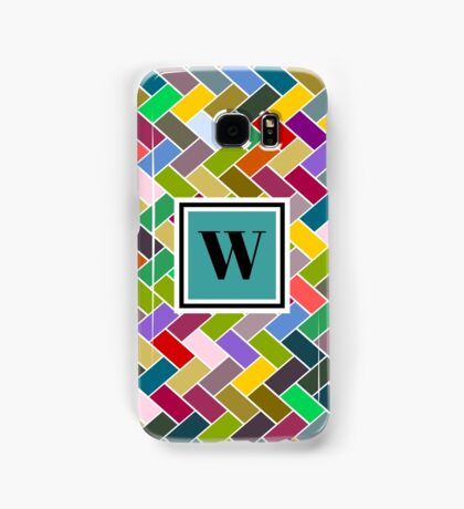 W Monogram Samsung Galaxy Case/Skin