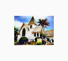 Church and Palm Tree - Redondo Beach T-Shirt