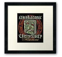 Miskatonic University Alumni Framed Print
